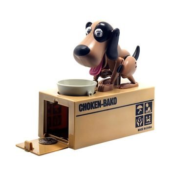 Robotic Dog Automatic Coin Piggy Bank