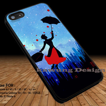 Kid Story Mary Poppins iPhone 6s 6 6s+ 5c 5s Cases Samsung Galaxy s5 s6 Edge+ NOTE 5 4 3 #cartoon #animated #disney #MaryPoppins DOP237