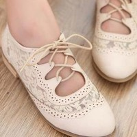 Vintage Lace Shoes