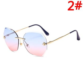 GUCCI Women Fashion New Polarized Sunscreen Travel Leisure Eyeglasses Glasses
