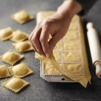 Ravioli Mold With Roller