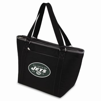 New York Jets Insulated Black Cooler Tote