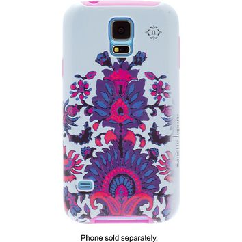 Nanette Lepore - Case for Samsung Galaxy S 5 Cell Phones - Blue