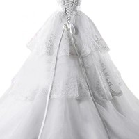 Emma Y 2014 Sweetheart Bowknot Ball Gowns Wedding Gowns Long