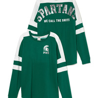 Michigan State University Pieced Varsity Crew - PINK - Victoria's Secret