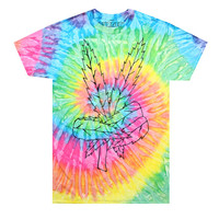 Peace Pot Tie Dye T-Shirt