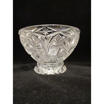 Crystal Solar Star & Pinwheel Bowl