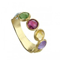 Marco Bicego Jaipur Yellow Gold 5 Stone Ring