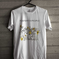 Foster The People Logo 242 Shirt For Man And Woman / Tshirt / Custom Shirt