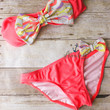 Bow Bikini: Colorful Chevron