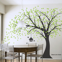 Giant Windy Tree Wall Decal