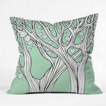 Gabi For The Birds 1 Throw Pillow
