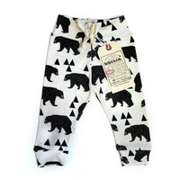 Kids Handmade Constellation Bear Leggings - Graffiti Beach Exclusive