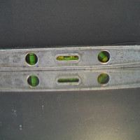 "Vintage Craftsman No. 3983 Aluminum Torpedo Early Level 9"" Long Tool Sears Carpenters Tools"