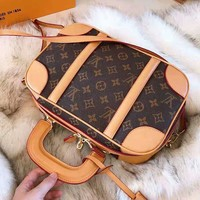 LV High Quality New Fashionable Women Shopping Leather Handbag Tote Shoulder Bag Crossbody