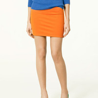 Korean Style  Elastic Banded A Lined Mini Skirts 7 Colors