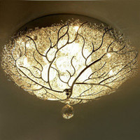 [US$ 219.99] LED Flush Mount with 4 Lights in Artistic Style