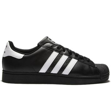 adidas Originals Mens Superstar II Trainers Black G17067