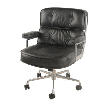 Fred Office Chair, Vintage Coal