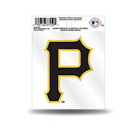 MLB Pittsburgh Pirates Small Static Decal