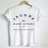 Brand New Fashion JACOBS Women Funny T Shirts Casual Cotton Short Sleeve Tops Casual tshirts Camisetas Tumblr clothes Female Tee
