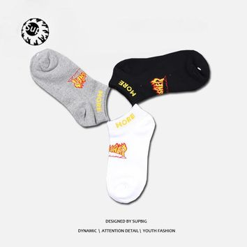 Thrasher Cotton Stylish Transparent Socks [9516615879]