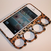 Lions Pride By Meri — Cheetah Knuckle iPhone 5 Case