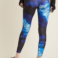 Fresh Take Leggings in Blue Universe