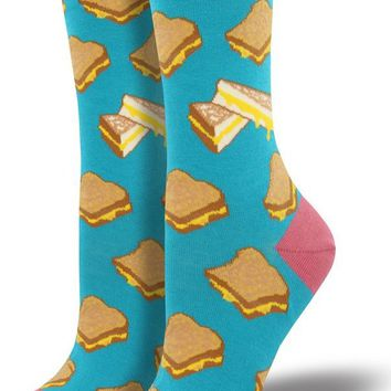 Grilled Cheese Women's Crew Socks