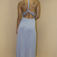 Braided Back Maxi Dress (more colors)