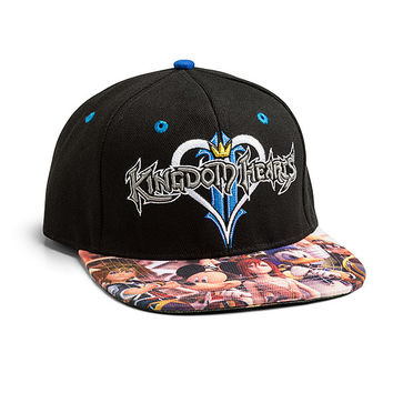 Kingdom Hearts Snapback Cap