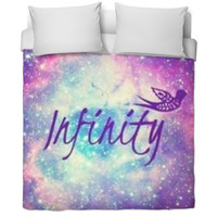 Galaxy Infinity Duvet Cover