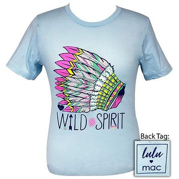 Girlie Girl Originals Lulu Mac Preppy Wild Spirit T-Shirt