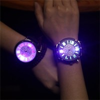 Men's Analog LED Watch
