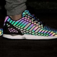 "Fashion ""Adidas"" Chameleon Reflective Sneakers Sport Shoes high quality"