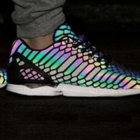 "Fashion ""Adidas"" Chameleon Reflective Sneakers Sport Shoes"