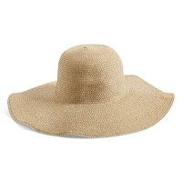 Junior Women's BP. Floppy Straw Look Hat (Online Only)