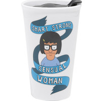 Bob's Burgers Tina Ceramic Travel Mug
