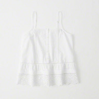 Womens Cutwork Cami | Womens Tops | Abercrombie.com