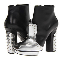 Alexander McQueen Metal Beads Boots (Nappa) Silver/Black - Zappos.com Free Shipping BOTH Ways