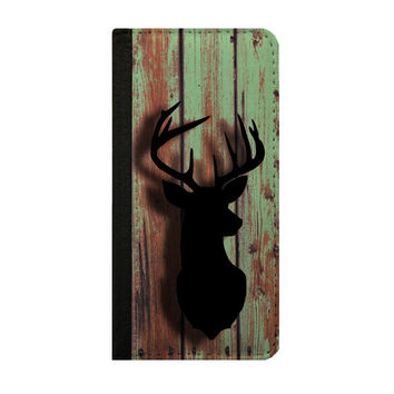 Deer iPhone 6s plus case Men phone case Samsung Galaxy Note 5 case iPhone 6s wallet case, iPhone 5 case Samsung Galaxy S5 case wood