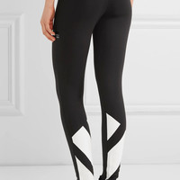 adidas Originals - Printed stretch cotton-jersey leggings