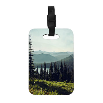 "Sylvia Cook ""Discover Your Northwest"" Landscape Decorative Luggage Tag"