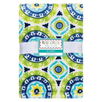 Waverly Solar Flair Plush Baby Blanket