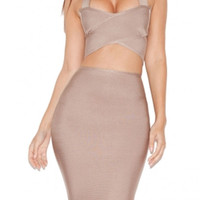 Adriana Bandage Two Piece