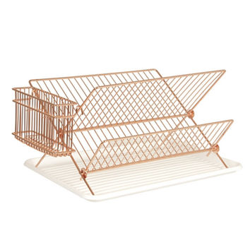 Copper Plated Dish Rack
