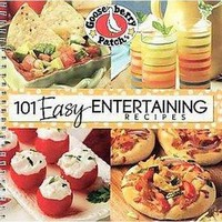 101 Easy Entertaining Recipes Cookbook (Spiral)