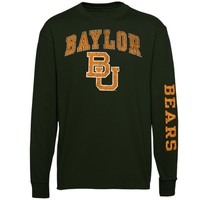 Baylor Bears Forest Green Arch & Logo Long Sleeve T-Shirt