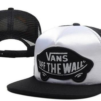 VANS Women Men Embroidery Sports Hip Hop Baseball Cap Hat-28
