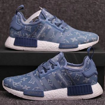 LV Adidas NMD Fashion and leisure sports shoes